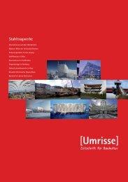 01·2011 - Thema: Stahltragwerke - Umrisse