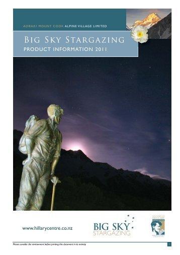 Big Sky Stargazing - Hermitage Hotel