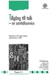 Tillgång till tolk