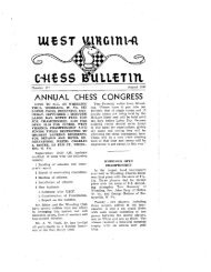Bulletin 117 - West Virginia Chess Association