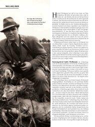 WILD, JAGD, JÄGER - Wild und Hund