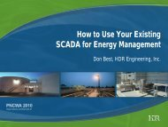 How to Use Your Existing SCADA for - pncwa