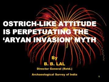 'aryan invasion' myth