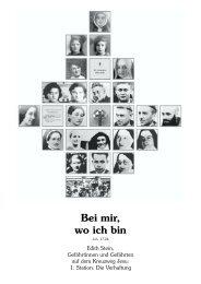 Download: Bei mir, wo ich bin.pdf - Edith-Stein-Medien