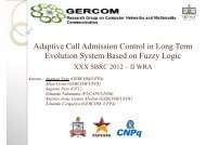 Adaptive Call Admission Control in Long Term Evolution ... - UFMG