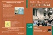 Journal de Saclay n°30 - CEA Saclay