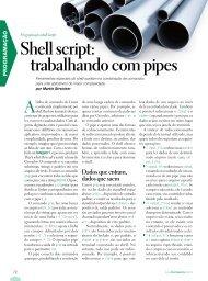 Shell script: trabalhando com pipes - Linux New Media
