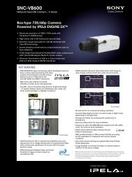SNC-VB600 - Elvia CCTV