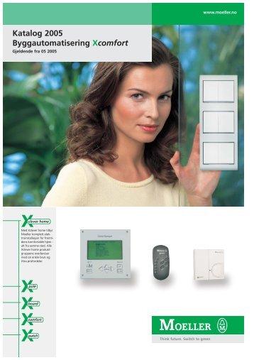 Katalog 2005 Byggautomatisering Xcomfort