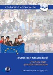 Internationaler Schüleraustausch: den Dialog wagen