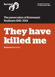 they-have-killed-me-bushman-report