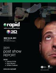 RAPID 2011 Post Show Report
