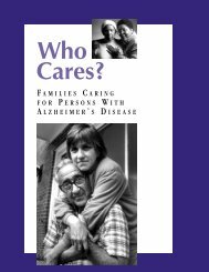 Caregiver report - National Alliance for Caregiving