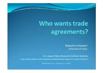 Prof. Nobuhiro Hiwatari The University of Tokyo