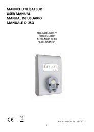Manuel Just pH LED FR-EN-ES-IT - Pool Technologie