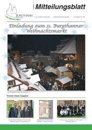 Mitteilungsblatt Gemeinde Burgthann