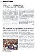 Accroître l'aide pour faciliter le retour des réfugiés et ... - caritasdev.cd - Page 6