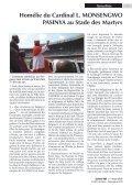 Accroître l'aide pour faciliter le retour des réfugiés et ... - caritasdev.cd - Page 7