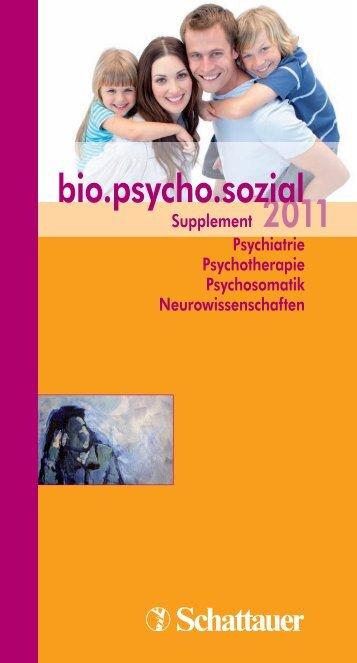 bio.psycho.sozial - Schattauer GmbH