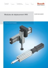 Modules de déplacement VKK - Bosch Rexroth