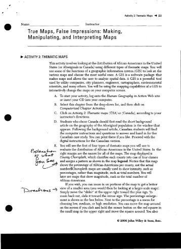 Making, Manipulating, and Interpreting Maps - CHS Development Site