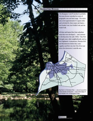 The Beargrass Creek Watershed is probably the most diverse ... - MSD