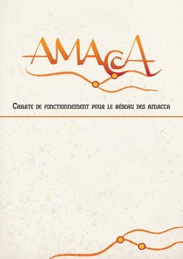 La Charte de fonctionnement des Amacca - Réseau Culture 21