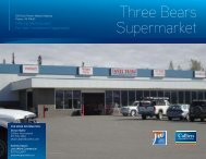 Three Bears Supermarket - Property Line