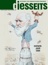 DARWIN- JAHR 2009 - Humanistischer Verband Deutschlands