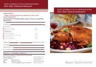 können Sie den Bestellschein downloaden. - Bayer Gastronomie ...