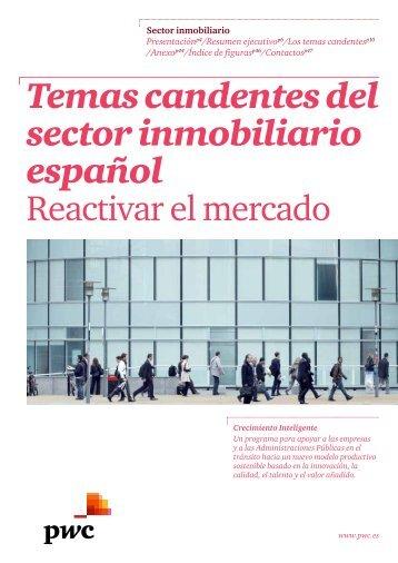Temas candentes del sector inmobiliario español - pwc
