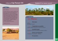 Le Maroc - CIC