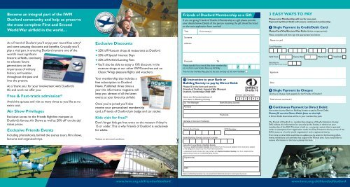Download the application form - Imperial War Museum