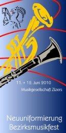 Festführer Homepage - Musikgesellschaft Zizers