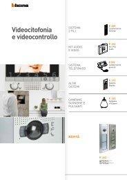Catalogo Generale - Citofonia e Videocitofonia - Professionisti BTicino