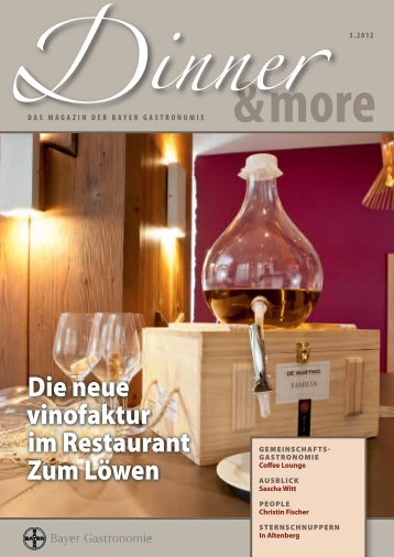 SAISonALeS LunChbuFFet - Bayer Gastronomie GmbH