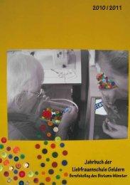 Kontakte 2011 (PDF) - LFS – Liebfrauenschule Geldern
