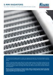 5 mm radiators - Nissens