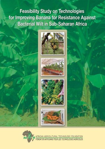 Feasibility Study on Technologies - African Agricultural Technology ...