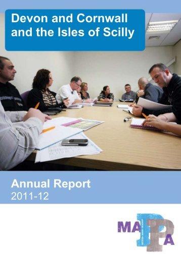 2012 MAPPA annual report - Devon & Cornwall Police