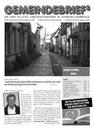 April - Mai 2008 - auf dem gemeinsamen Internetportal der drei ...