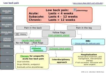 Low back pain - Vereinigung Zuercher Internisten