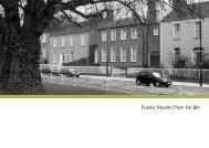 Public Realm Plan for Birr - Offaly County Council