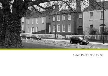 Public Realm Plan for Birr - Offaly County Council