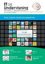 IT og UV 5 2013-tryk Digitale distributionsplatforme - Skoleporten ...