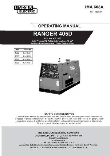 RANGER 405D - Sveiseeksperten