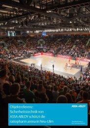 ratiopharm arena in Neu-Ulm - Assa Abloy