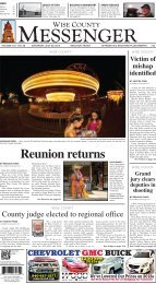 07-20-2013-Weekend - Wise County Messenger