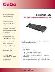 CompuGen 1100 - Egmont Instruments
