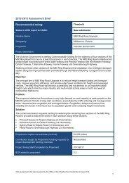 PDF: 90 KB - Infrastructure Australia